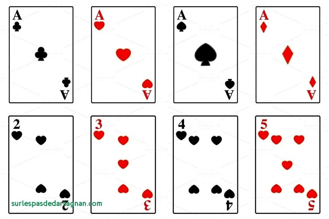 Deck Of Cards Template Ideas Blank Playing Printable Beautiful With Free Printable Playing Cards Template