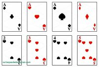 Deck Of Cards Template Ideas Blank Playing Printable Beautiful with regard to Deck Of Cards Template