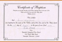 Dedication Certificate Template  Toha within Baby Dedication Certificate Template