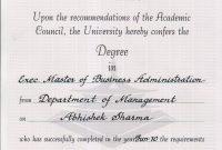Degree Degree Certificate Sample Degree Certificates for University Graduation Certificate Template