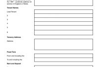 Deposit Protection Service Assured Shorthold Tenancy  Grl Landlord with Notice To Terminate A Lodger Agreement Template