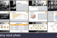 Design Element Of Infographics For Presentations Templates Annual intended for Keynote Brochure Template
