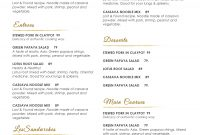 Design  Templates Menu Templates Wedding Menu  Food Menu Bar within Free Restaurant Menu Templates For Microsoft Word
