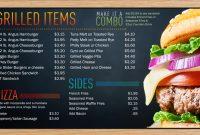 Digital Menu Boards  Restaurant Digital Signage Displays  Reach intended for Digital Menu Board Templates