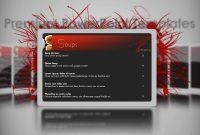 Digital Sigange Powerpoint Template  Restaurant  Youtube within Restaurant Menu Powerpoint Template
