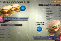 Digital Signage Video Template Restaurant Menu – Topdd Studios intended for Digital Menu Templates Free