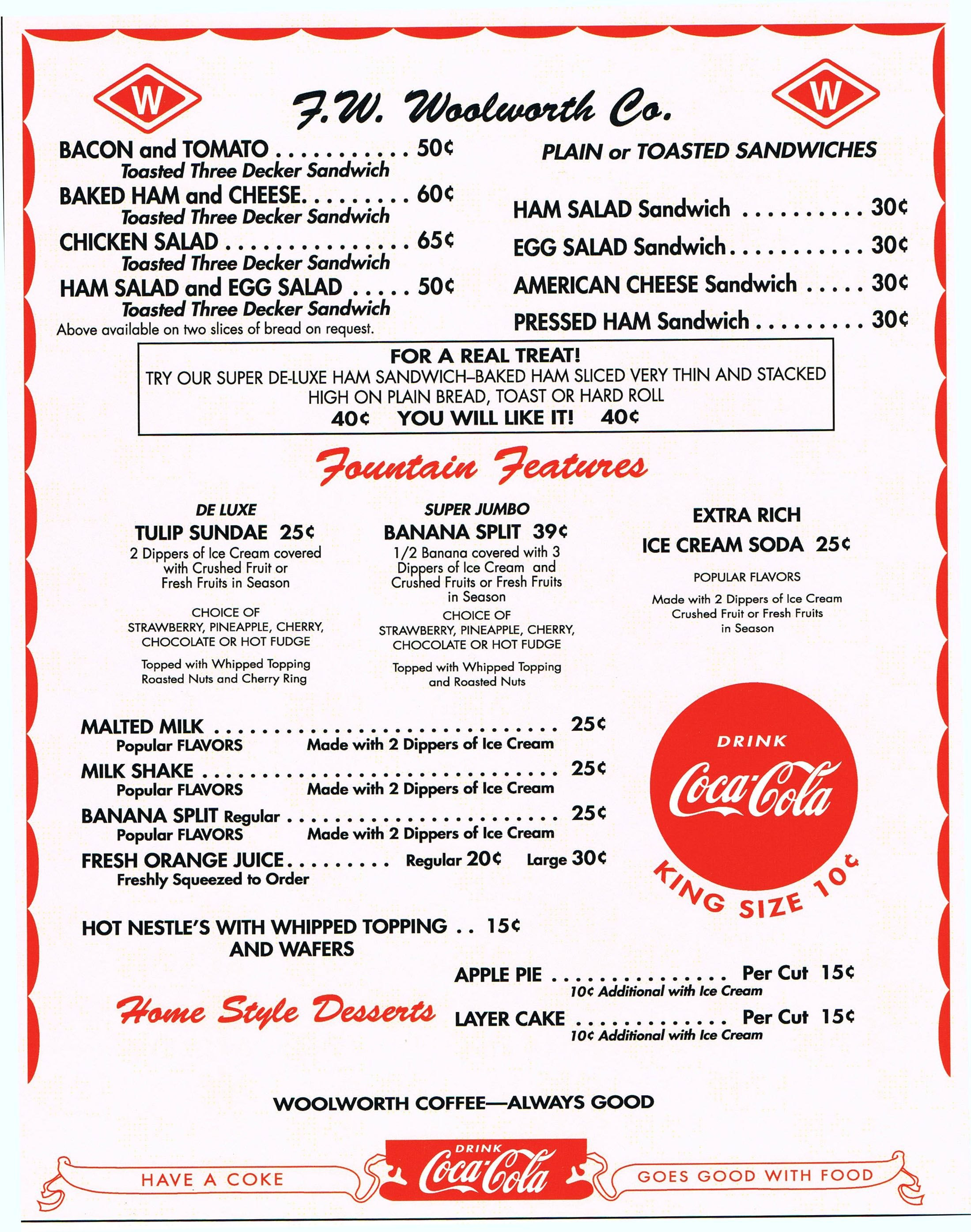 Diner Menu  's Style Diner Menu  's Diners  Diner Menu With 50S Diner Menu Template
