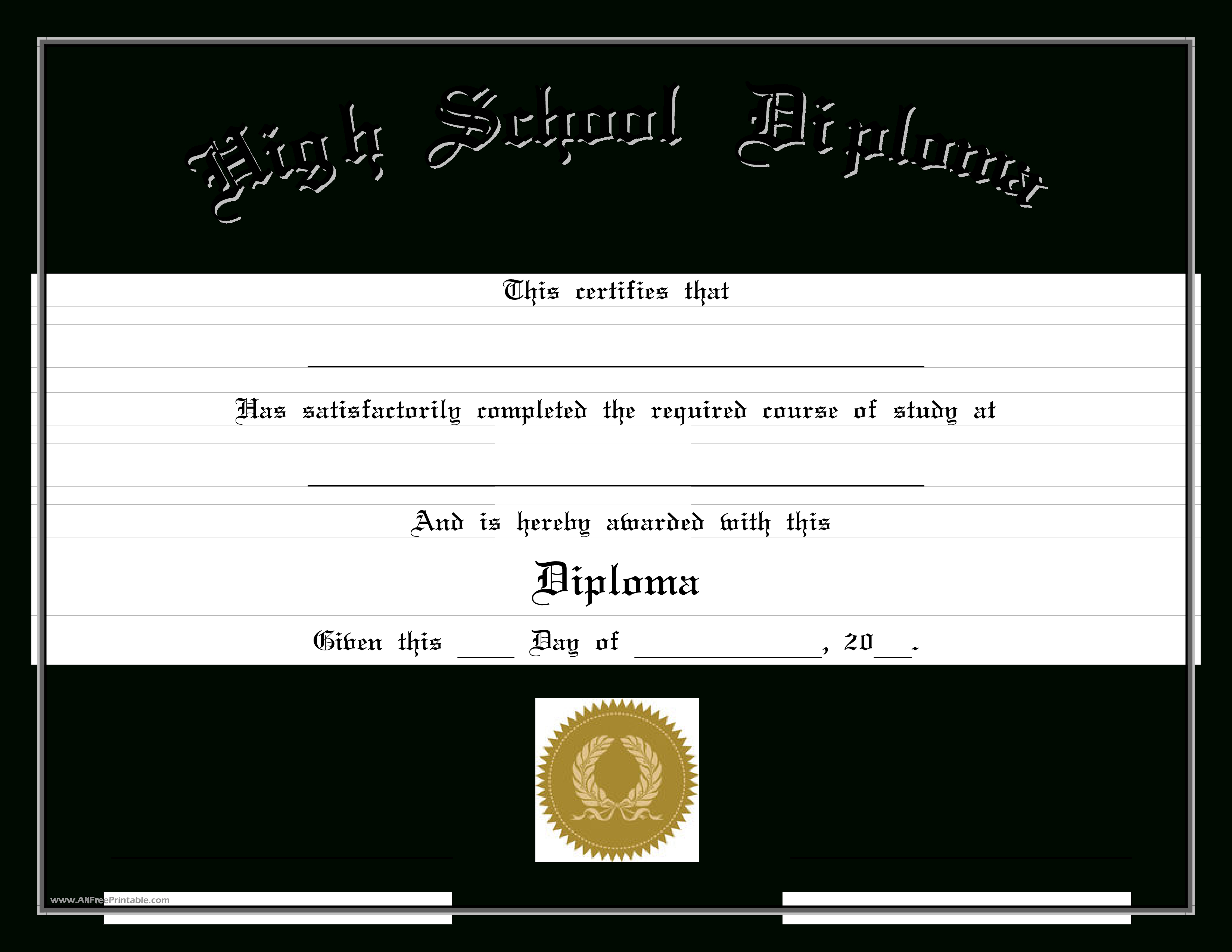Diploma Template Free Download Ideas Beautiful Marriage Pertaining To School Certificate Templates Free