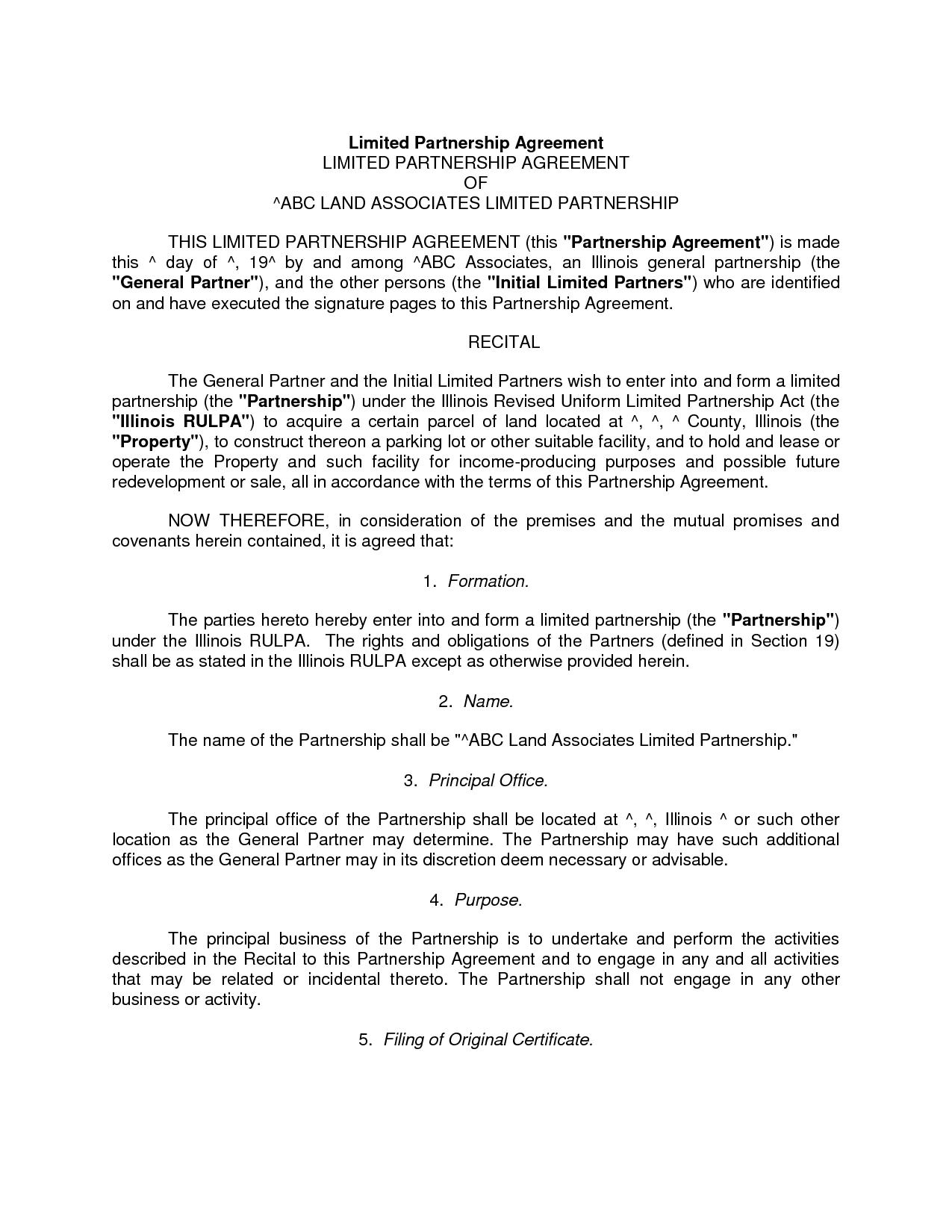 Dissolution Agreement Template Doc Downloadzdn Within Dissolution Of Partnership Agreement Template
