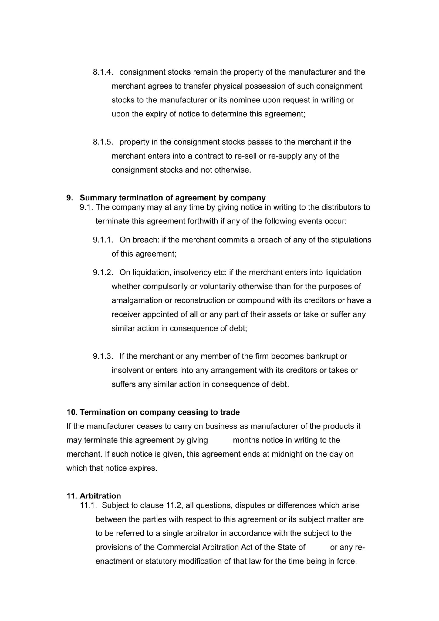 Distributor Agreement Templates  Free Samples  Precedents Online In Limited Risk Distributor Agreement Template