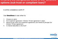 Division A – Quarterly Roadshow Business Services Discussion  Ppt within Division 7A Loan Agreement Template