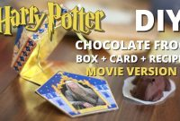 Diy Chocolate Frog Box  Card  Recipe Movie Version  Muggle throughout Chocolate Frog Card Template
