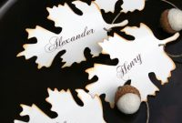 Diy Fall Place Card Free Printable Download  Printables Tutorials inside Free Place Card Templates Download