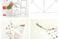 Diy Paper Pennant Banner W Free Template  Mommy Suite with regard to Homemade Banner Template