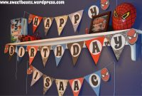 Diy Pennant Banner Template For Your Next Party  Sweetbeanz inside Triangle Pennant Banner Template