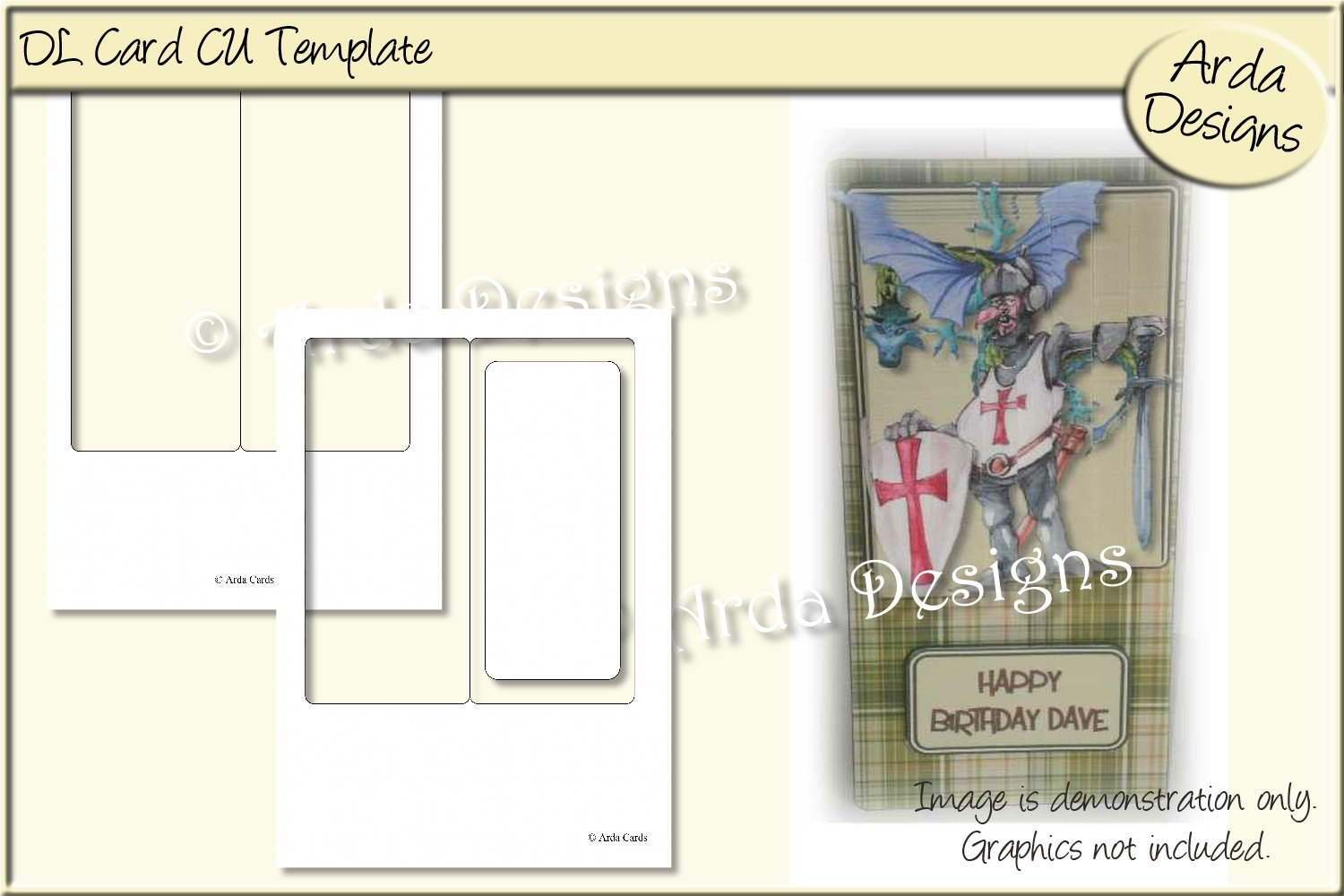 Dl Card Cu Template Graphicarda Designs  Creative Fabrica Pertaining To Dl Card Template