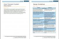 Document Template  Sansurabionetassociats intended for Cognos Report Design Document Template