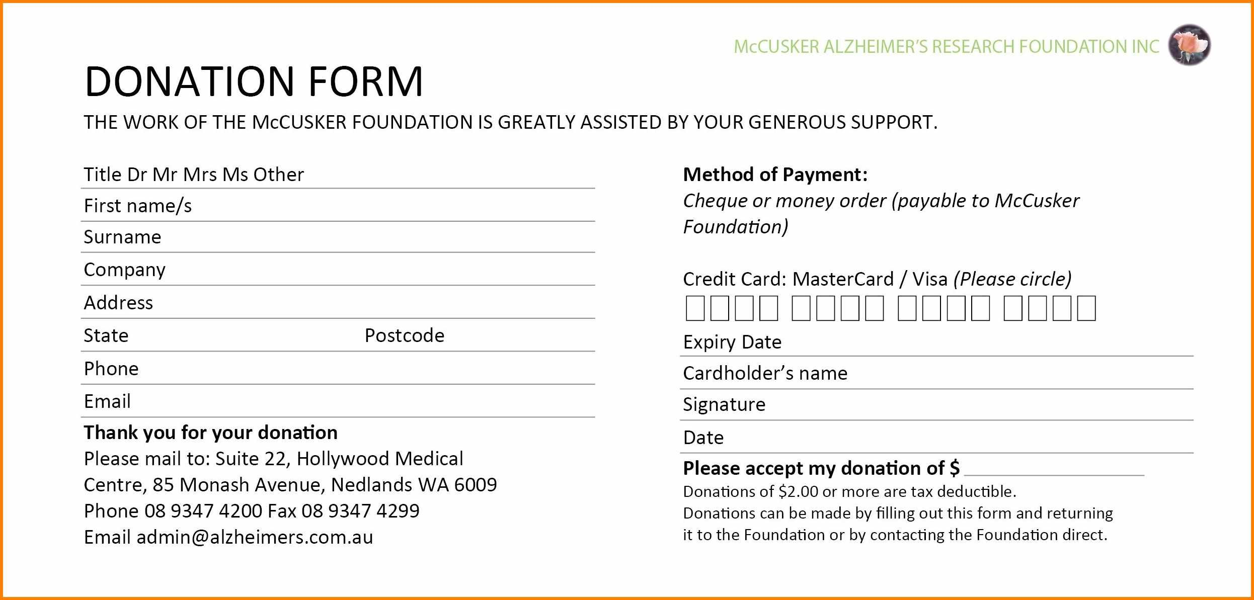 Donation Card Template  Instinctual Intelligence Inside Donation Cards Template