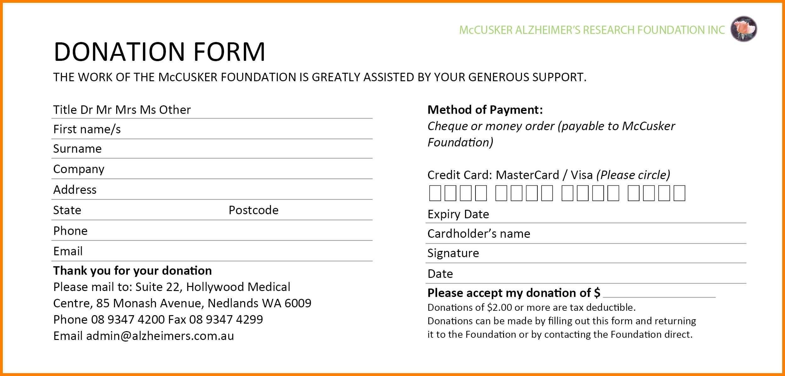 Donation Pledge Card Template Free Luxury Google Templates In Church Pledge Card Template