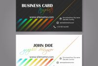 Double Sided Business Card Template Illustrator Lovely Double Sided inside Double Sided Business Card Template Illustrator