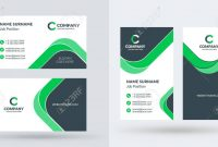 Doublesided Creative Business Card Template Portrait And Landscape with regard to Landscaping Business Card Template