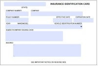 Download Auto Insurance Card Template Wikidownload in Proof Of Insurance Card Template