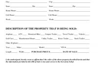 Download Bill Of Sale Forms – Pdf  Image with regard to Legal Bill Of Sale Template