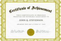 Download Blank Certificate Template Xhrdto  St Gabriel's Youth in Free Completion Certificate Templates For Word