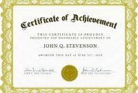 Download Blank Certificate Template Xhrdto  St Gabriel's Youth regarding Blank Certificate Of Achievement Template