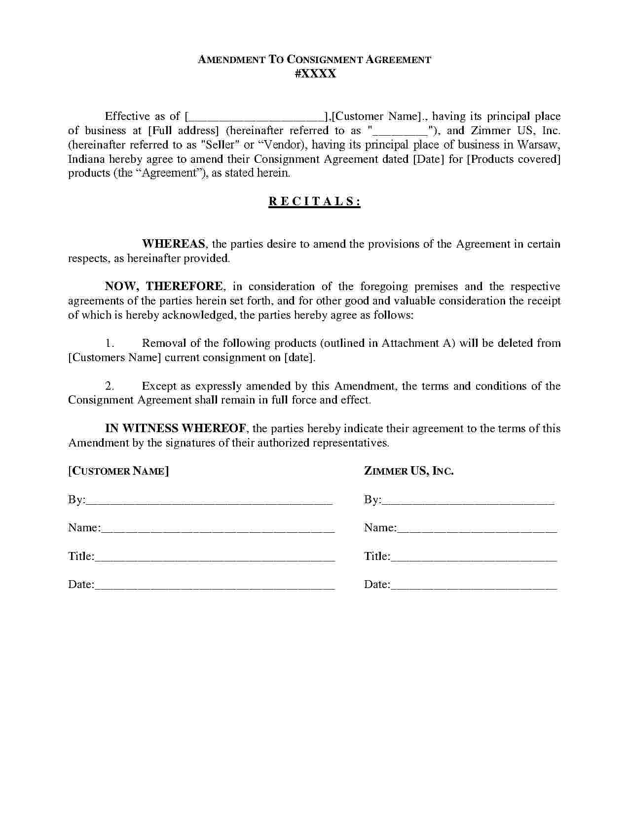 Download Consignment Agreement Style  Template For Free At Intended For Simple Consignment Agreement Template