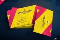 Download Creative Business Card Free Psd  Psddaddy in Template Name Card Psd