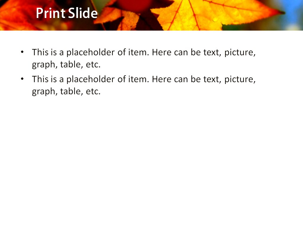 Download Free Autumn Leaves Powerpoint Template For Presentation With Free Fall Powerpoint Templates