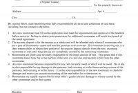Download Free California Additional Tenant Addendum To Rental inside Addendum To Tenancy Agreement Template