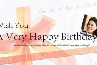 Download Free Happy Birthday Powerpoint Template Card  Download with Greeting Card Template Powerpoint