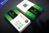 Download Free Modern Business Card Template Psd Set  Psdcb with Visiting Card Template Psd Free Download