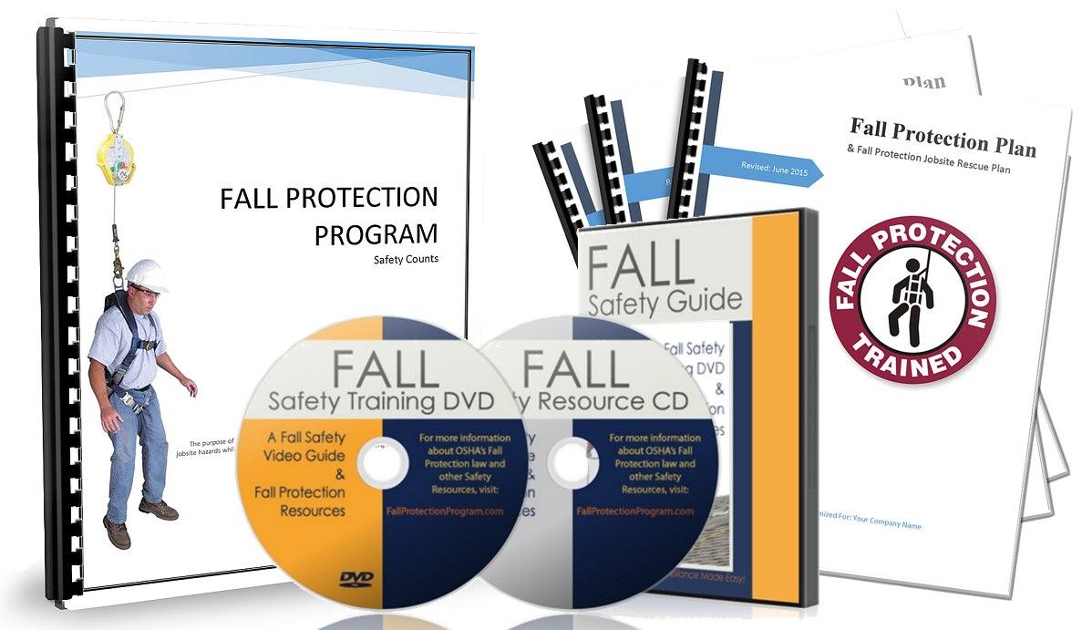 Download Free Safety Program  Osha Fall Protection Program  Fall Within Fall Protection Certification Template