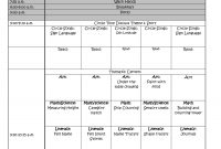 Download Free Weekly Lesson Plan Template Lots Of Free Common Core with regard to Preschool Weekly Report Template