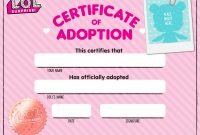 Download Fun Activities And Colorins To Print Out And Play With regarding Toy Adoption Certificate Template