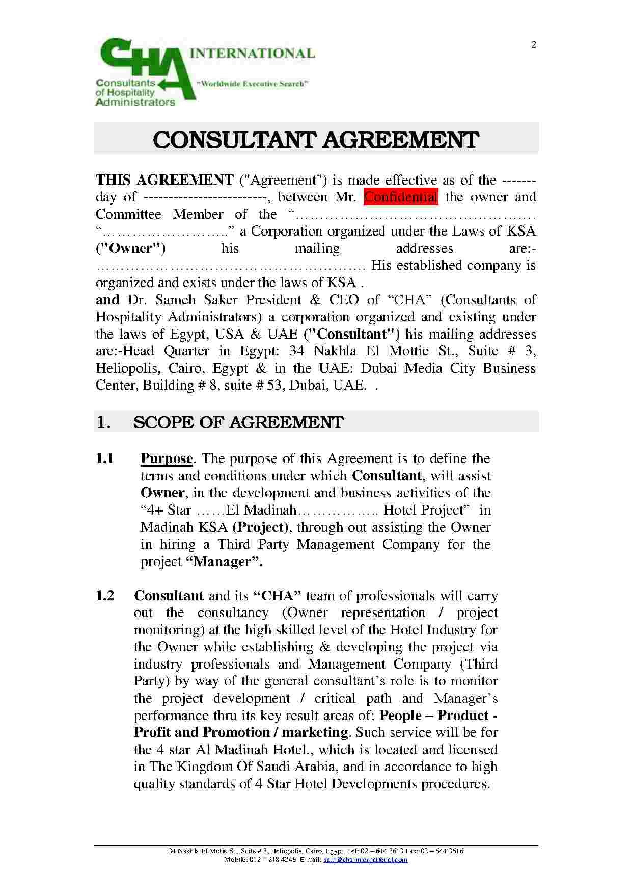 Download Marketing Consulting Agreement Style  Template For Free At Within Physician Consulting Agreement Template