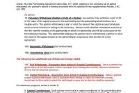 Download Partnership Agreement Style  Template For Free At within Supplemental Agreement Template