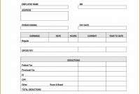Download Pay Stub Template Word Either Or Both Of The Pay Stub pertaining to Blank Pay Stub Template Word