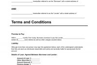 Download Personal Loan Agreement Template  Pdf  Rtf  Word for Blank Loan Agreement Template