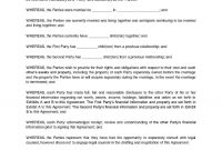 Download Postnuptial Agreement Style  Template For Free At throughout Post Nuptial Agreement Template