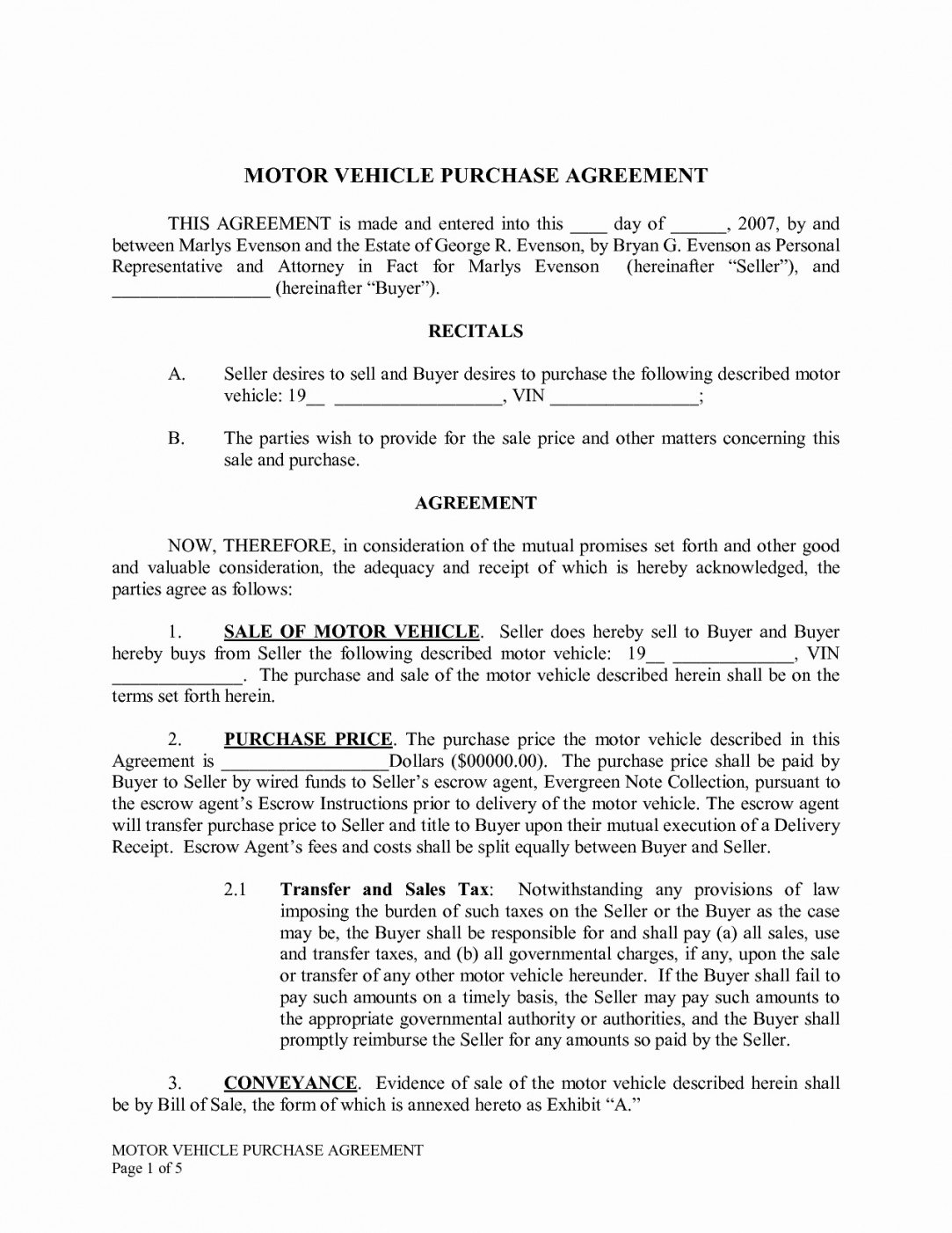 Download Sample Agreement Hire Purchase Docs For Wordsample Within Hire Purchase Agreement Template