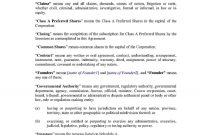 Download Shareholder Agreement Style  Template For Free At intended for Sample Shareholder Agreement For Startup