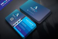 Download Unique Creative Business Card Template Psd Set For Free throughout Download Visiting Card Templates