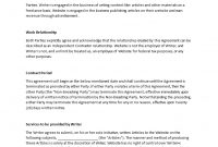 Download Writer Agreement Template  Bonsai with regard to Freelance Trainer Agreement Template