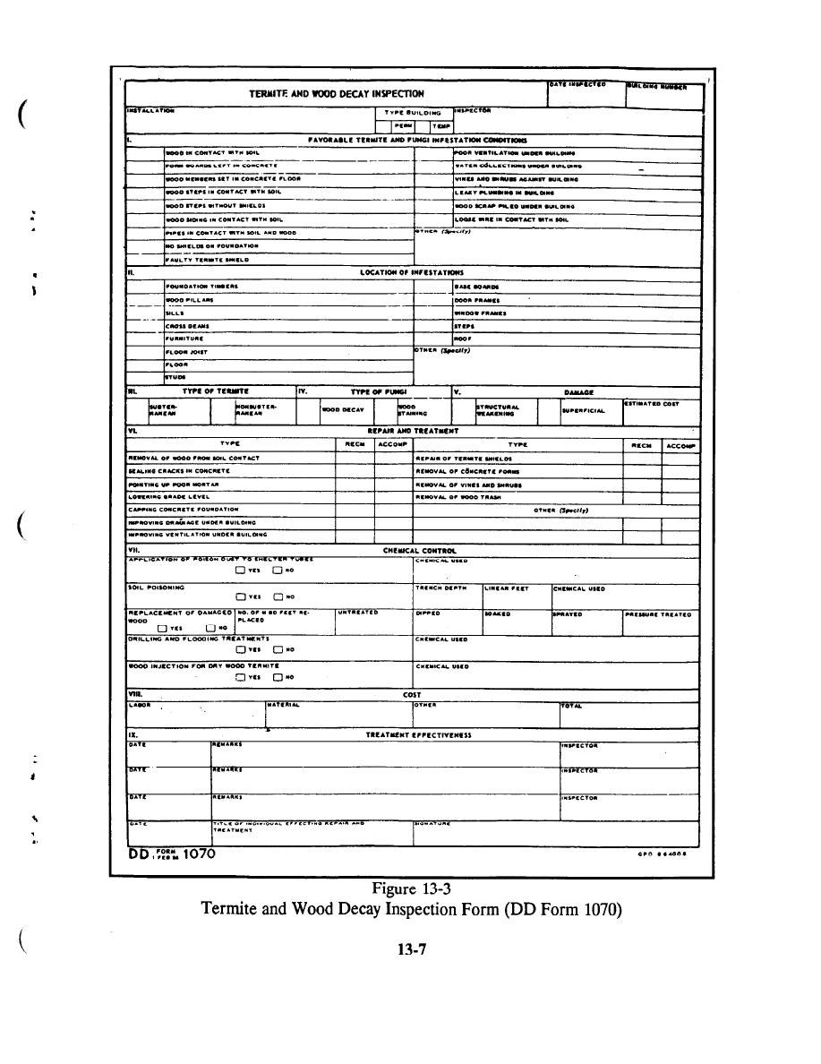 Drywood Termites Termite Inspection Report Template Inside Pest Control Report Template