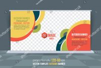 Dynamic Business Theme Outdoor Banner Design Stock Vector Royalty with Outdoor Banner Design Templates