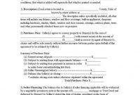 Earnest Money Deposit Agreement Elegant Earnest Money Agreement Form in Earnest Money Deposit Agreement Template